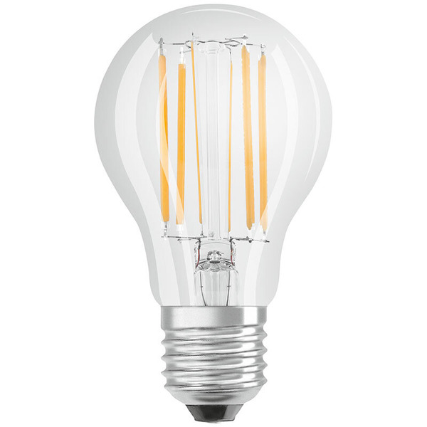 OSRAM LED SUPERSTAR RETROFIT 9-W-Filament-LED-Lampe E27, warmweiß, klar, dimmbar