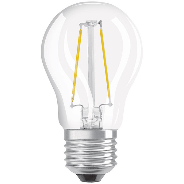 OSRAM LED SUPERSTAR 5-W-Filament-LED-Tropfenlampe E27, warmweiß, klar, dimmbar