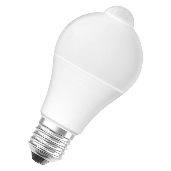 OSRAM LED STAR PLUS MOTION 11-W-Sensor-LED-Lampe E27 mit PIR-Bewegungsmelder, warmweiß