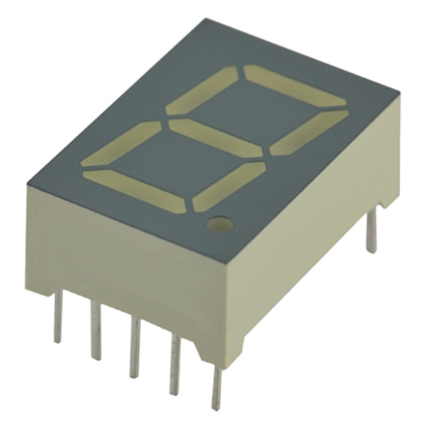 opto devices 7-Segment-Anzeige OS-5211AUHR-21-L4.0, rot, 13,2 mm