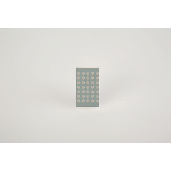 opto devices 5 x 7 LED Dot Matrix Display OM12571BUHR-21-L3.1, rot, 	39,10 mm