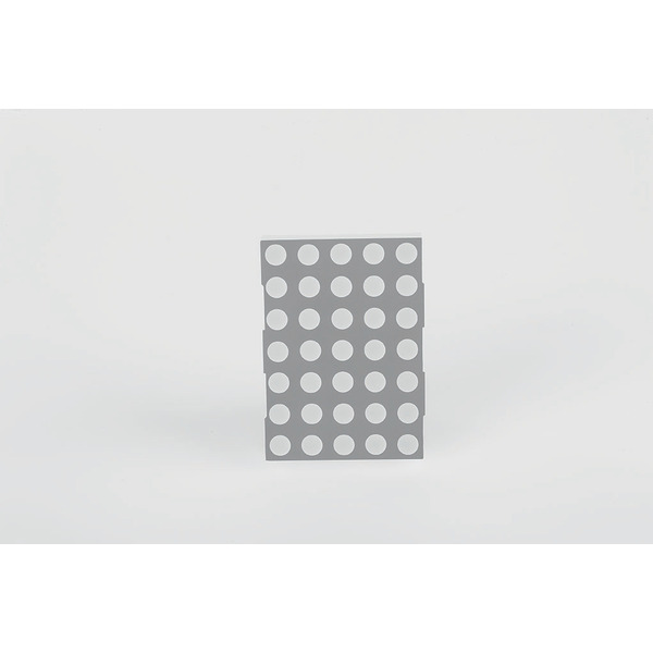 opto devices 5 x 7 LED Dot Matrix Display OM20571BUHR-21-L4.0, rot, 53,10 mm