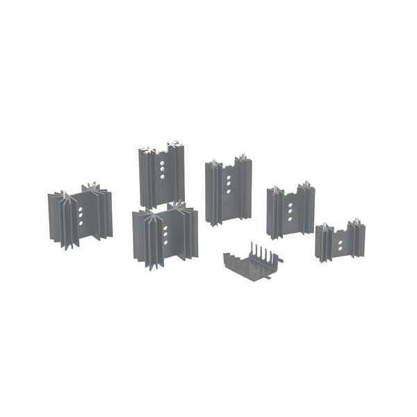 Velleman Kühlkörper für TO220 / TO3P-Gehäuse, 15,5 K/W mit Pins