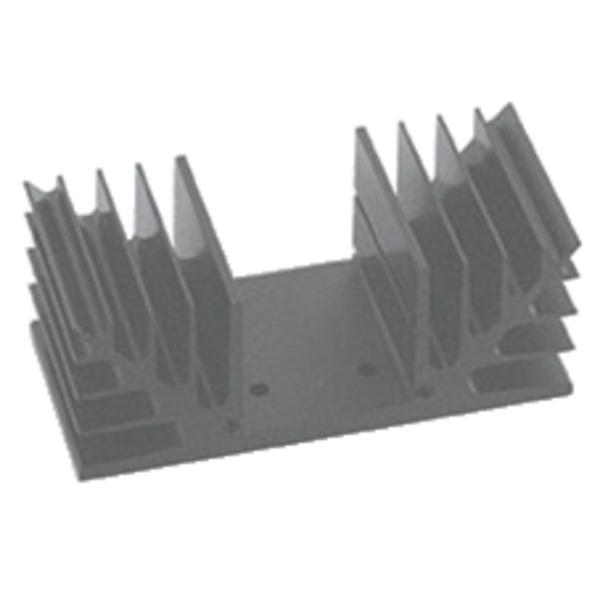 Velleman Kühlkörper mit spezieller Bohrung für VM113 / K8042, 80 x 40 mm