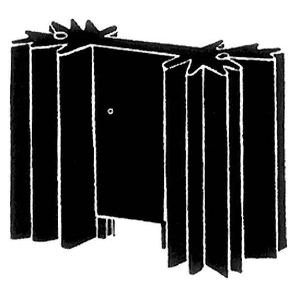 Velleman Kühlkörper für TO220-Gehäuse, 10 K/W, mit Pins