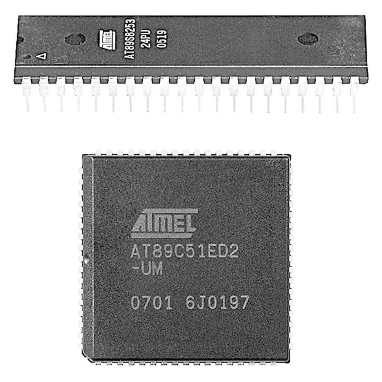 Image of Atmel Mikrocontroller AT89C51ED2-RLTUM, VQFP44