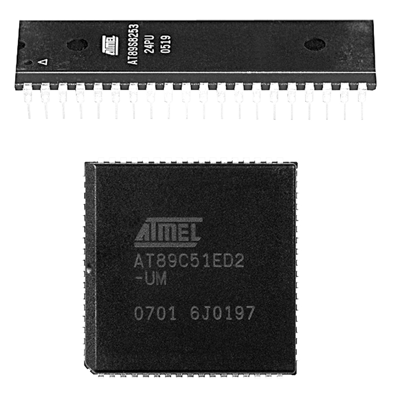 Image of Atmel Mikrocontroller AT89C51CC03CA-SL, PLCC44