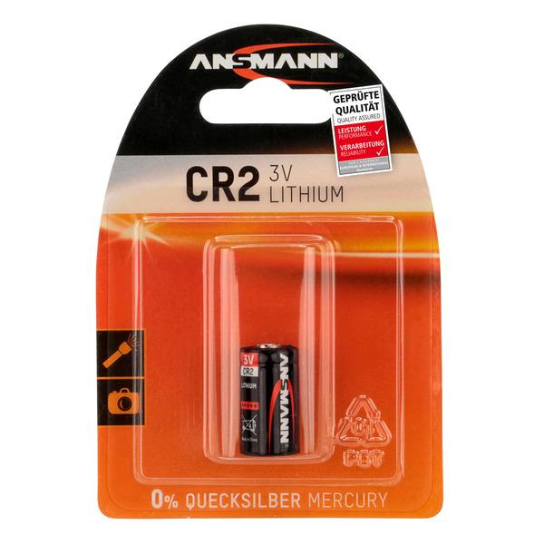 Ansmann Foto-Lithium-Batterie CR2 3 V