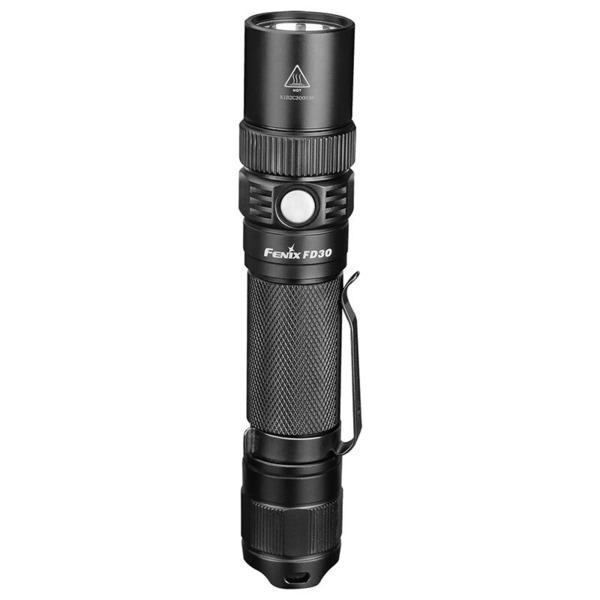 Fenix FD30 LED-Taschenlampe, fokussierbar, schwarz