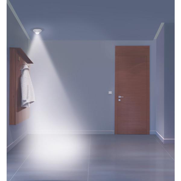 OSRAM Nightlux Batterie-LED-Licht für Deckenmontage, mit Bewegungsmelder, weiß