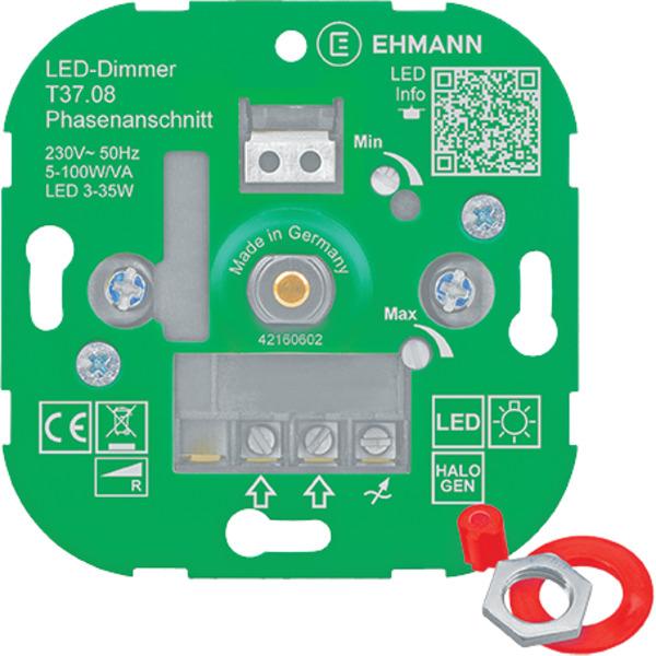 Ehmann T37.08 UP-LED-Dimmer, Phasenanschnitt