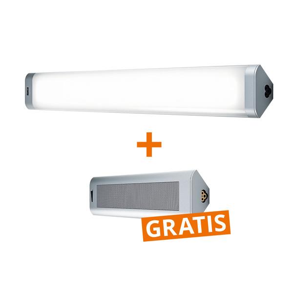 OSRAM 18-W-LED-Unterbauleuchte, 80 cm, warmweiß + GRATIS Bluetooth-Lautsprecher