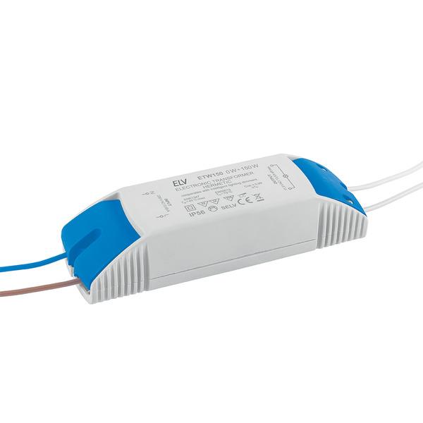 ELV 0,1-150-W-LED-Netzteil, 12 V AC, dimmbar