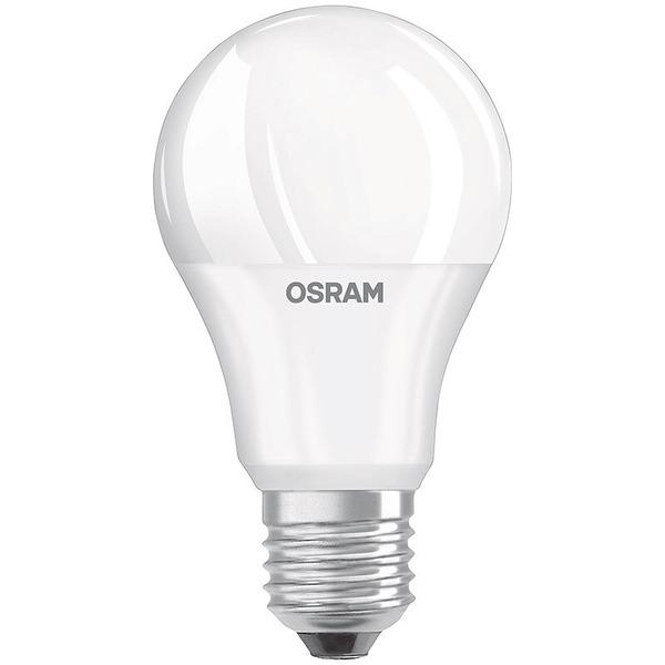 OSRAM LED STAR PLUS 8,5-W-LED-Lampe E27 mit Double Click (dimmen per Lichtschalter), warmweiß