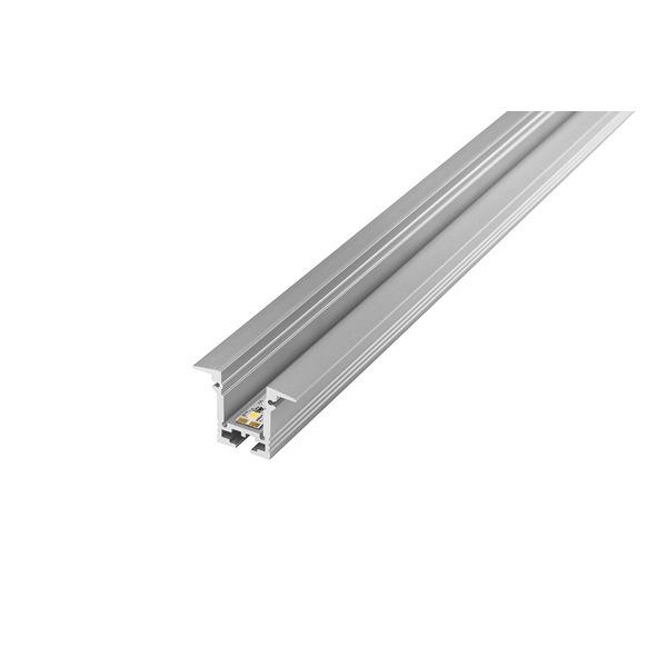 Barthelme 1-m-Aluminiumprofil T-Profil für LED-Streifen