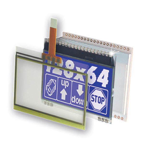 Electronic Assembly LCD-Grafikdisplay EA DOGM128 128x64 Pixel, STN blau