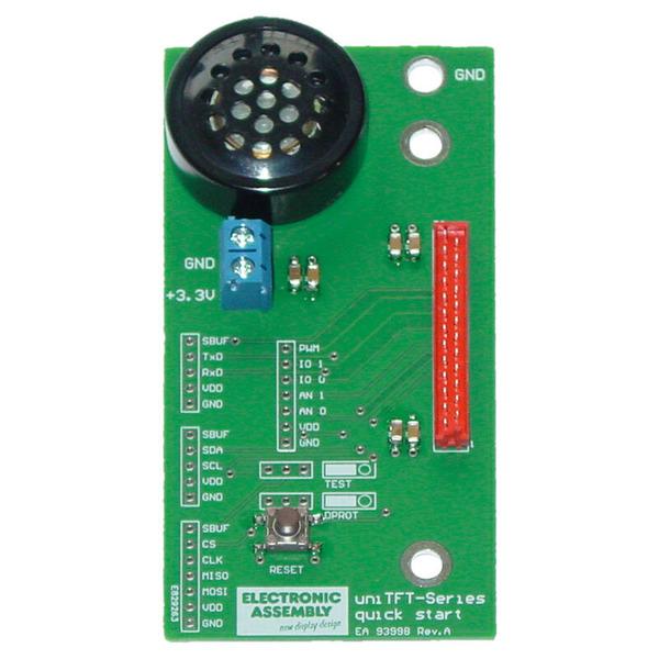 Electronic Assembly Starterpaket inkl. uniTFT050-TC