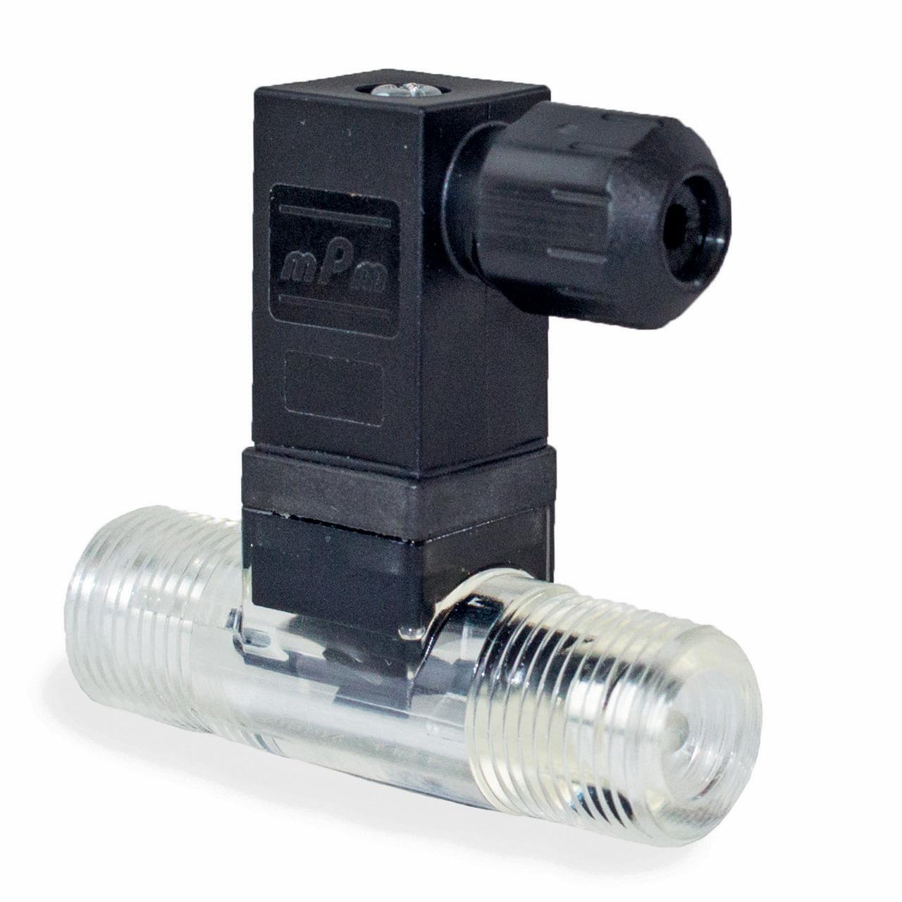 Badger Meter Europa Durchflussmesser (Turbinenzähler) Vision 2008 4F22 für 1 bis 25 l-min- mit DIN Stecker- G3-8