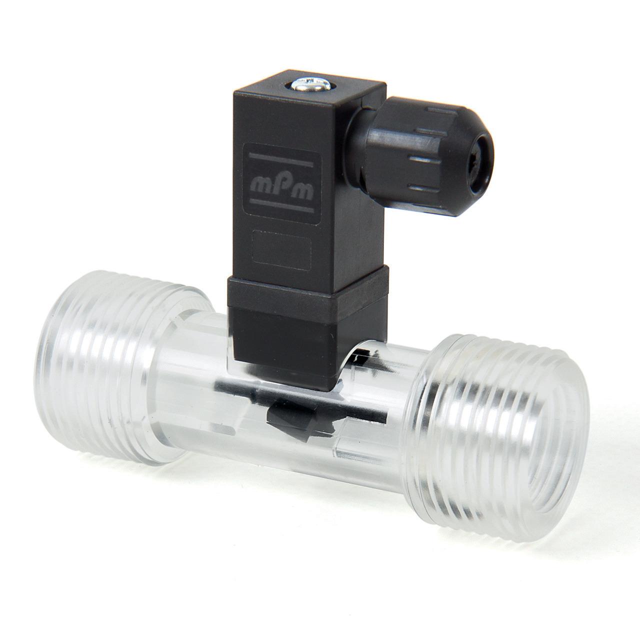 Badger Meter Europa Durchflussmesser (Turbinenzähler) Vision 3012 4F16 für 5 bis 65 l-min- mit DIN Stecker- G3-4