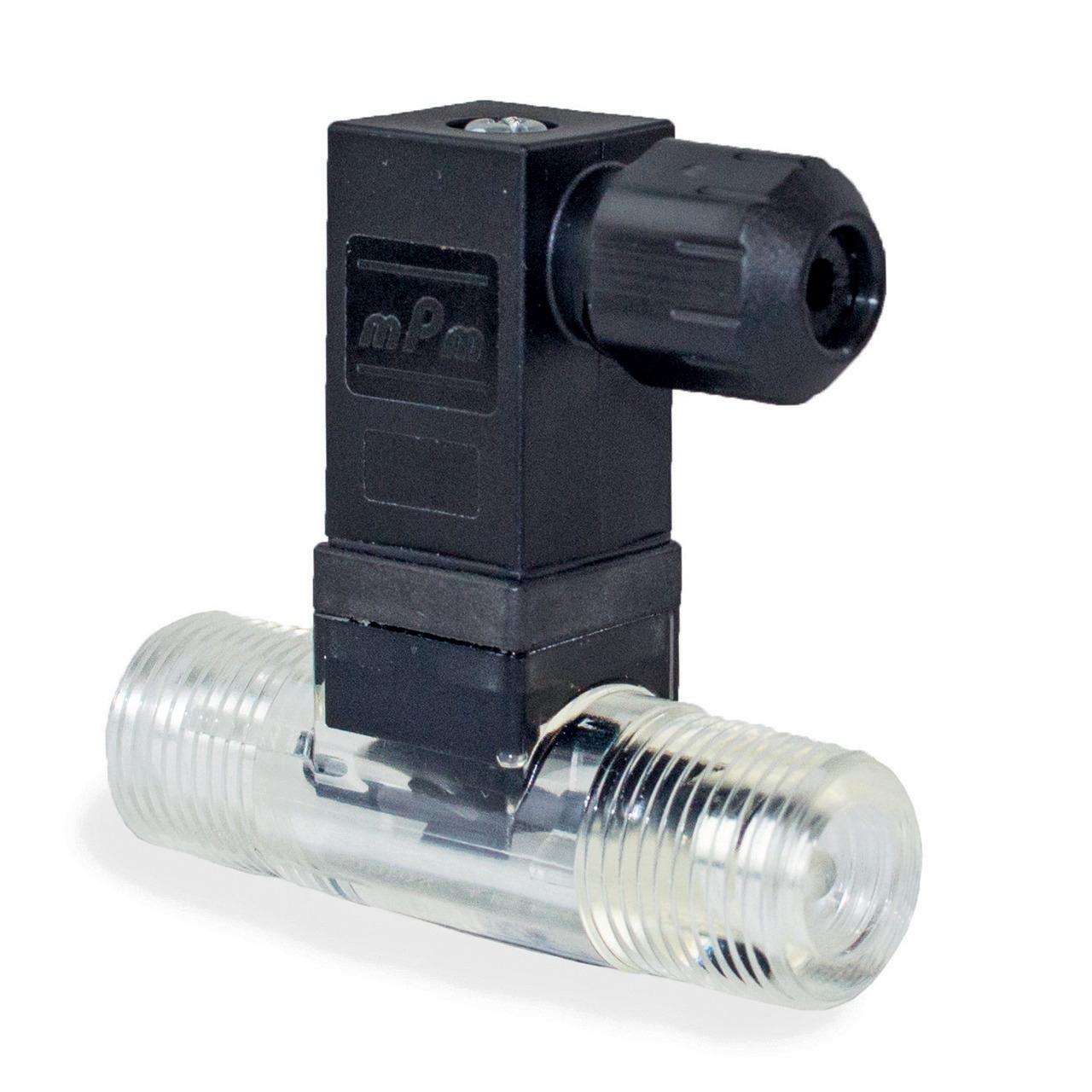 Badger Meter Europa Durchflussmesser (Turbinenzähler) Vision 2006 4F44 für 1 bis 10 l-min- mit DIN Stecker- mit Spule- G3-8