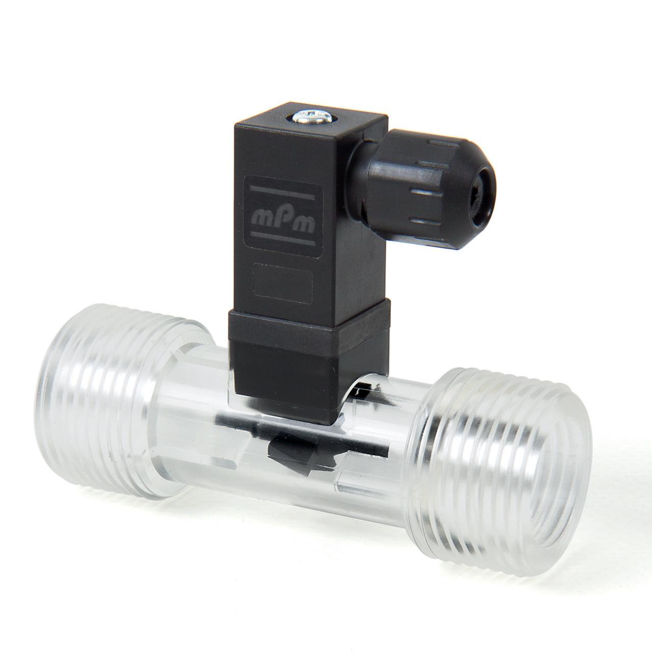 Badger Meter Europa Durchflussmesser (Turbinenzähler) Vision 3012 4F16 für 5 bis 65 l-min- mit DIN Stecker- mit Spule- G3-4