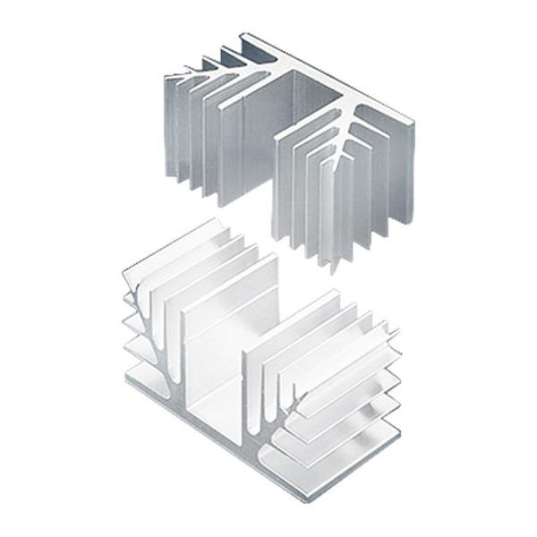 Fischer Elektronik Kühlkörper SK 88 (ohne Bohrungen), 1,7 K/W
