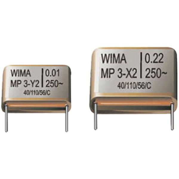 Y-Kondensator, 2,2 nF, MP3-Y2