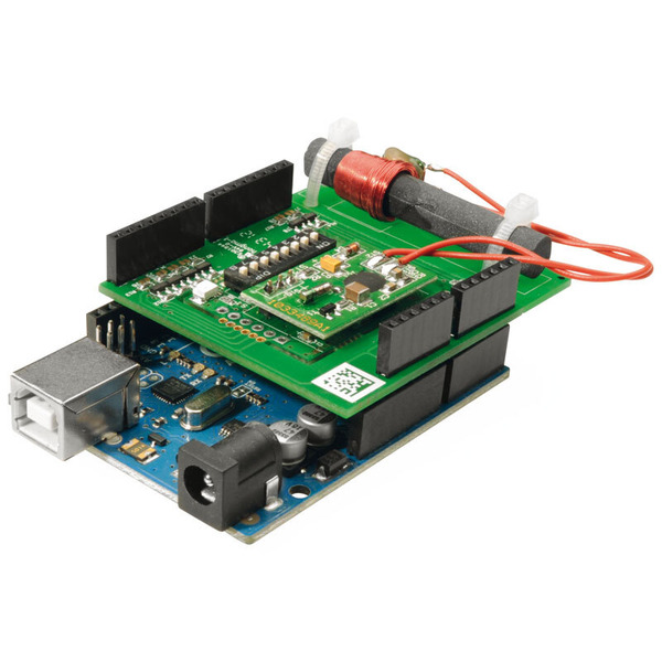 ELV Komplettbausatz Real-Time-Clock-DCF-Modul mit I2C, SPI u. UART-Schnittstelle, RTC-DCF