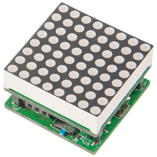 ELV Komplettbausatz Mini-Matrixanzeigen-Modul MMM8x8