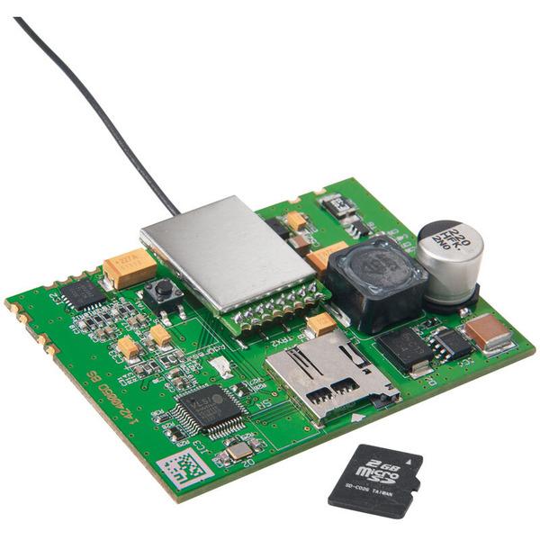 ELV Homematic Komplettbausatz Funk-Gong-Modul MP3 mit microSD-Karten-Slot HM-OU-CM-PCB