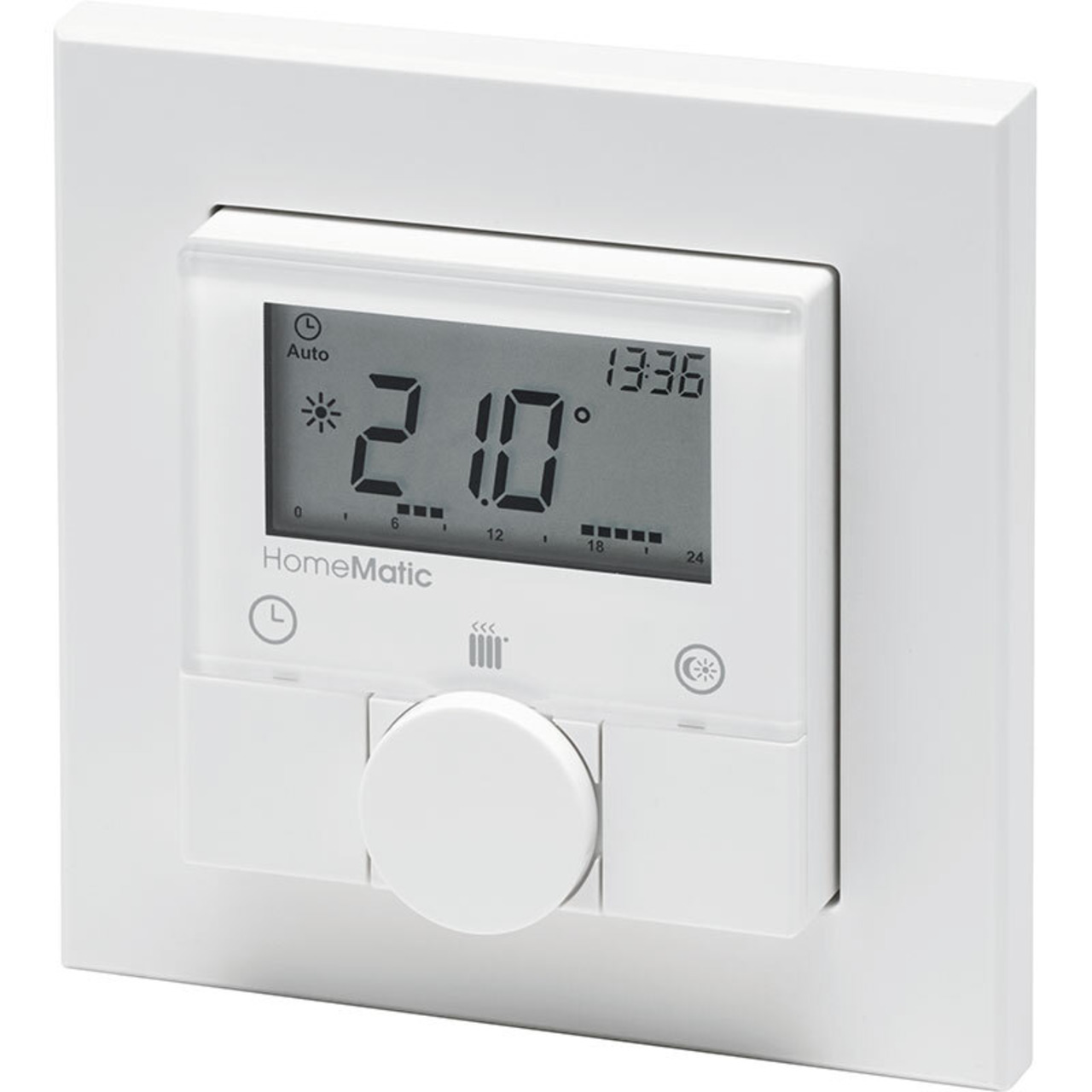 ELV Homematic ARR-Bausatz Funk-Wandthermostat HM-TC-IT-WM-W-EU- für Smart Home - Hausautomation