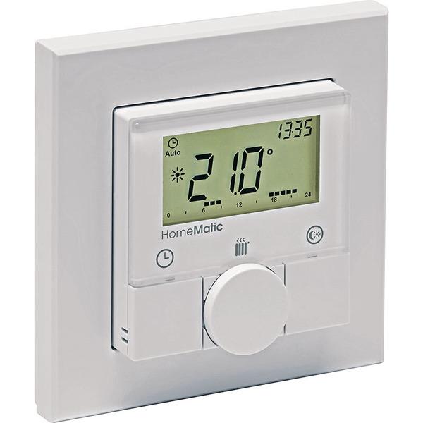 Homematic Funk-Wandthermostat HM-TC-IT-WM-W-EU für Smart Home / Hausautomation