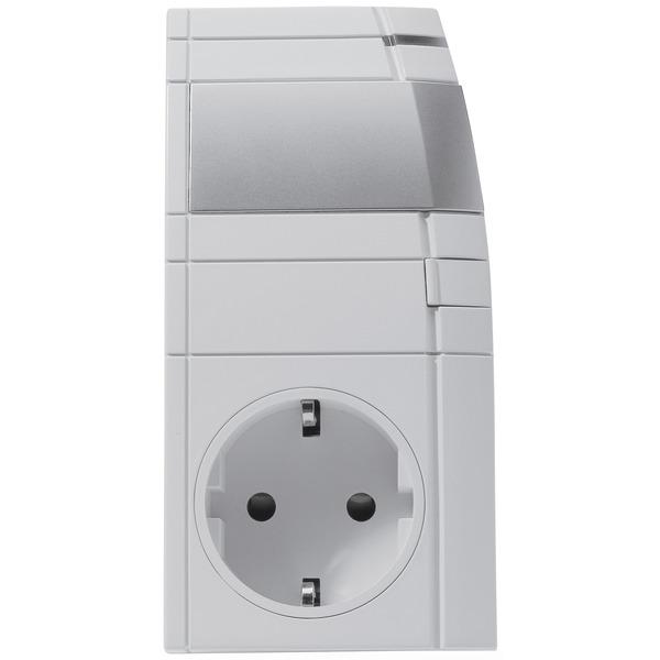 Homematic Funk-Dimmaktor Zwischenstecker, Phasenanschnitt HM-LC-Dim1L-Pl-3