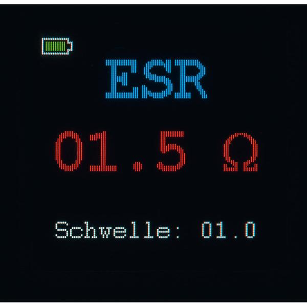 ELV Komplettbausatz Komponententester/ESR-Meter mit OLED-Display KT200