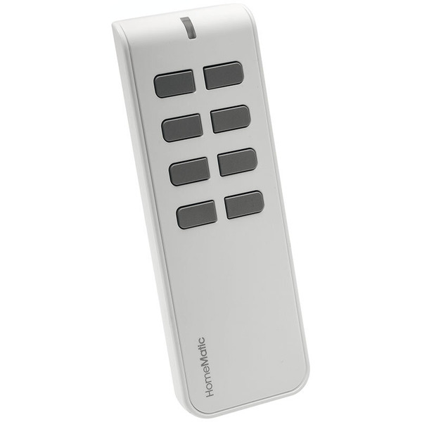 Homematic Funk-Fernbedienung, 8 Tasten HM-RC-8 für Smart Home / Hausautomation