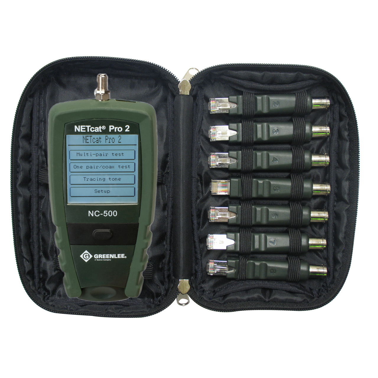 Greenlee Verdrahtungstester-Set NC-520 NETcat Pro2