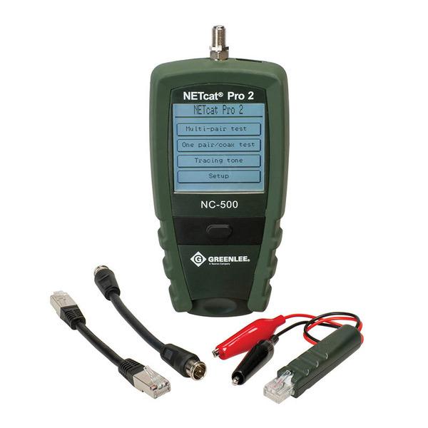 Greenlee Verdrahtungstester-Set NC-520 NETcat Pro2
