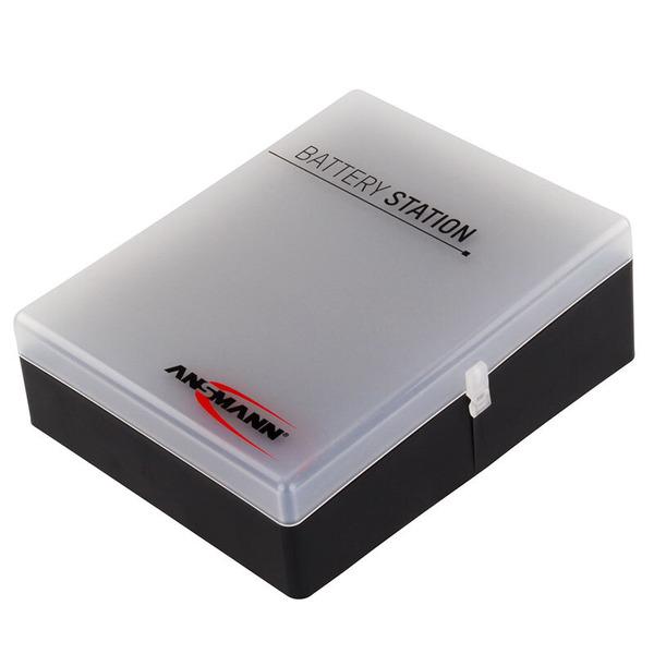 Ansmann Batterie-Box für 24 x Mignon, 16 x Micro und 4 x 9 V Block