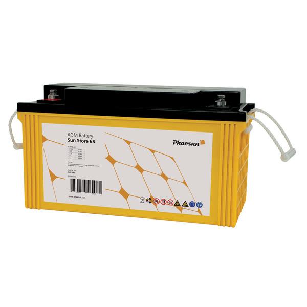 Phaesun Blei-AGM-Akku Sun Store 65, 12 V, 80 Ah