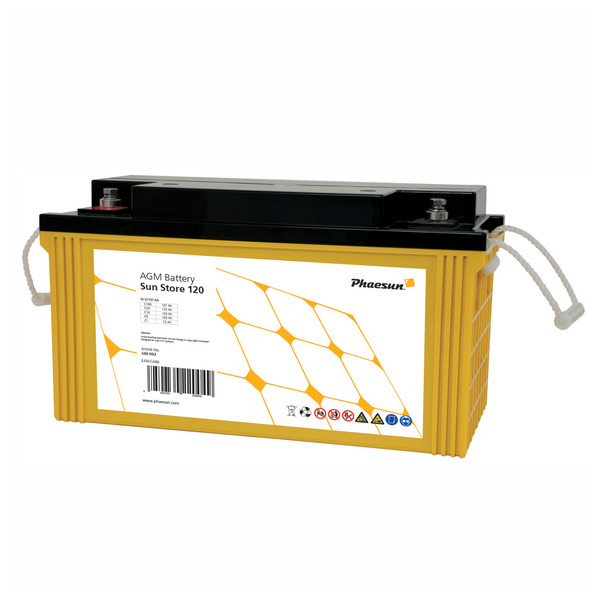 Phaesun Blei-AGM-Akku Sun Store 120, 12 V, 150 Ah