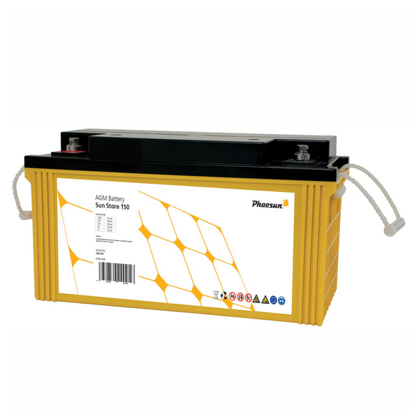 Phaesun Blei-AGM-Akku Sun Store 150, 12 V, 175 Ah