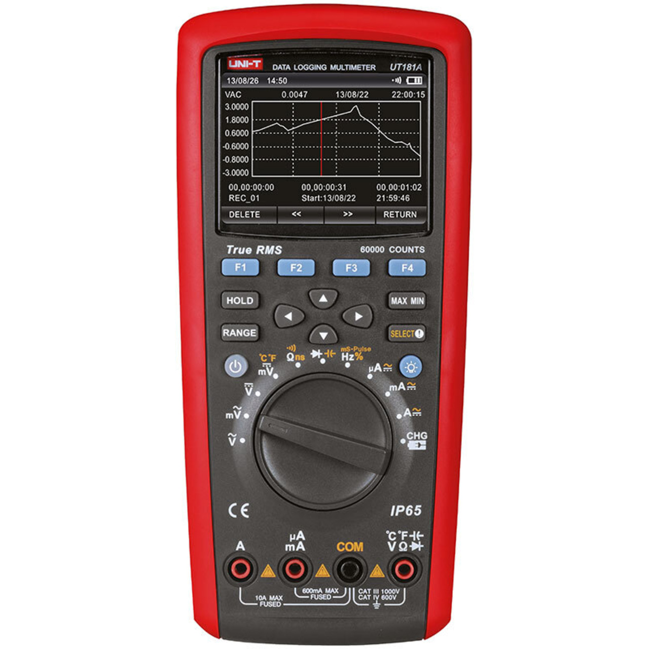 Uni-Trend TrueRMS Multimeter UT181A- inkl- PC-Software