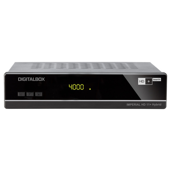 Imperial Satelliten-Receiver HD 11+ Hybrid, SAT>IP Client, inkl. HD+ Karte (6 Monate)