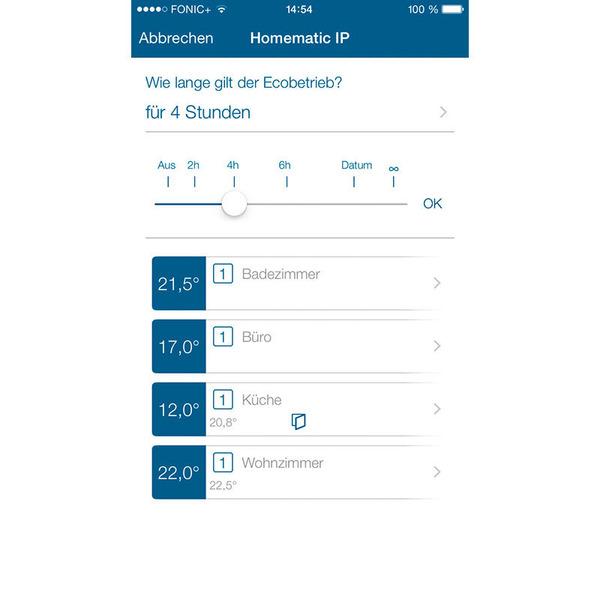 Homematic IP Smart Home Starter Set Heizen Basic mit Access Point und Heizkörperthermostat basic