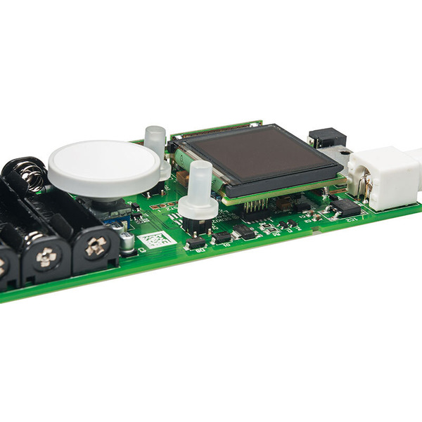 ELV Komplettbausatz 1-MHz-DDS-Funktionsgenerator mit OLED-Display DDS101