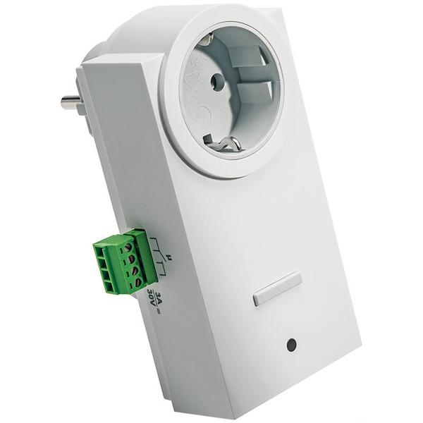 ELV Homematic Komplettbausatz Funk-Schaltaktor mit Klemmanschluss, Zwischenstecker HM-LC-Sw1-Pl-CT