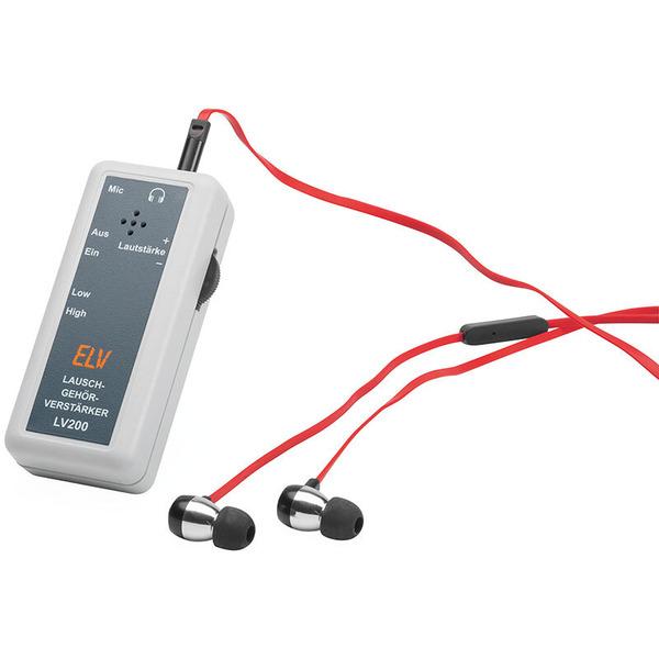 ELV Bausatz Lausch-Gehörverstärker LV200
