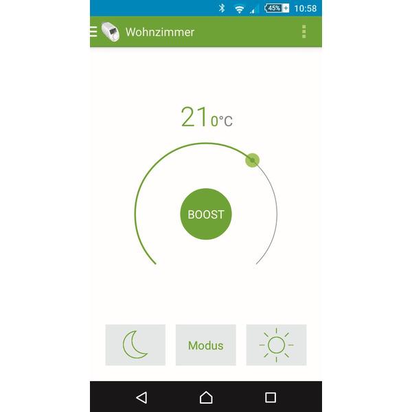 Eqiva BLUETOOTH® Smart Heizkörperthermostat, 3er-Set, mit App-Steuerung