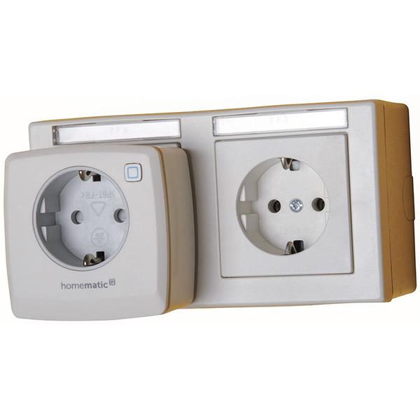Homematic IP 5er Set Schaltsteckdose HMIP-PS für Smart Home / Hausautomation