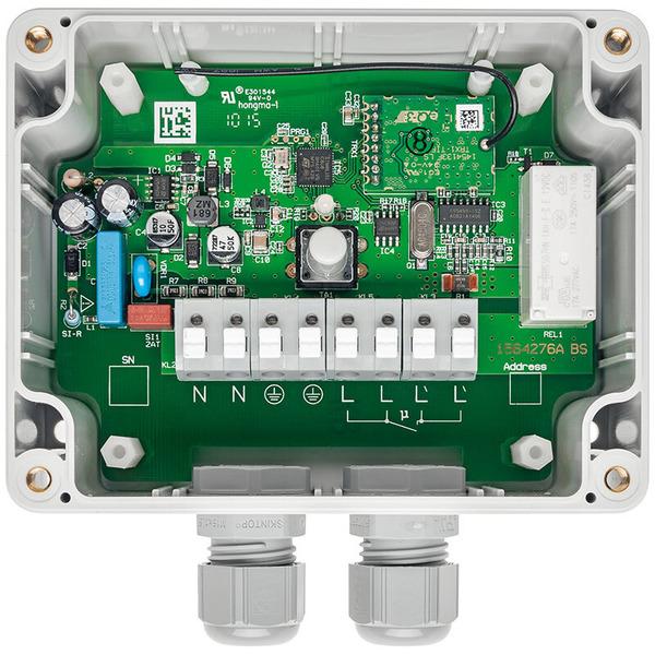 ELV Homematic Bausatz 1-Kanal-Funk-Schaltaktor mit Leistungsmessung HM-ES-PMSw1-SM